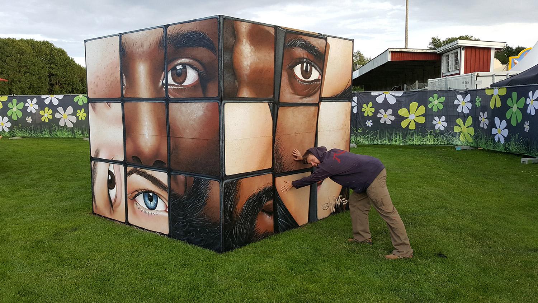 Sweden-3D-rubic-cube-chemis-festival